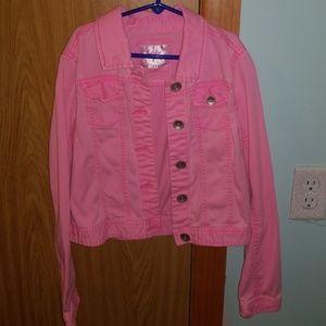 Justice Jean jacket